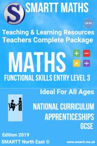 Maths & English Entry level 3